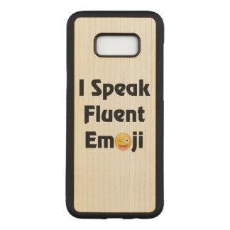 Fluent In Emoji Carved Samsung Galaxy S8+ Case