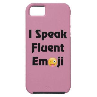 Fluent In Emoji iPhone 5 Covers