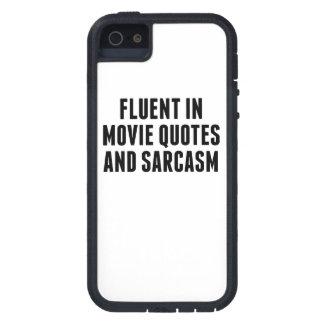 Fluent In Movie Quotes And Sarcasm iPhone 5/5S Cases