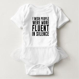 Fluent In Silence Baby Bodysuit