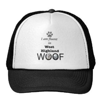 Fluent in West Highland Woof Cap