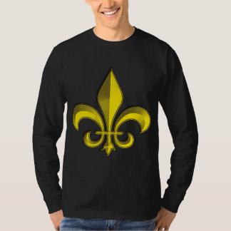 Fluer De Art Bevel Gold Fresco Tee Shirt