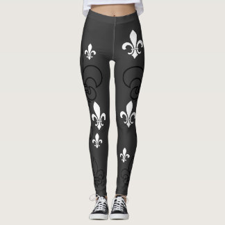 Fluer De Lis Leggings