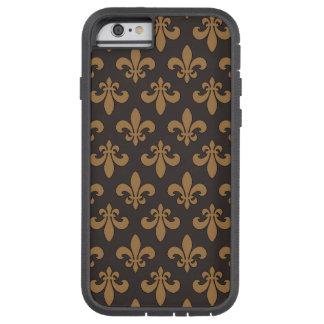 Fluer Des Lis Chocolat Chaud Tough Xtreme iPhone 6 Case
