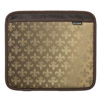 Fluer Des Lis Classic Gold Sleeve For iPads