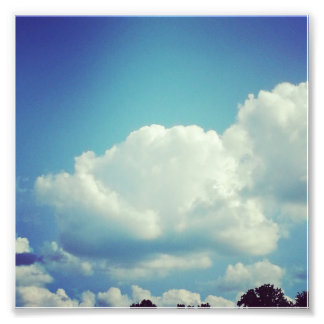 Fluff - Cloud Photo Print
