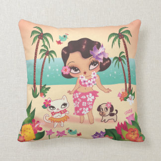Fluff Hula Lulu Pillow