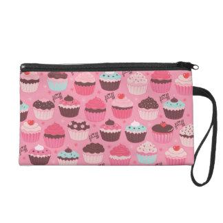 Fluffcakes Wristlet Bag by Fluff