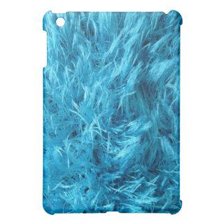 Fluffy Blue Fur Case For The iPad Mini