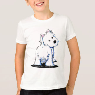 Fluffy Butt Westie T-Shirt