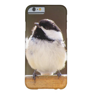 Fluffy chickadee iPhone 6 case Barely There iPhone 6 Case