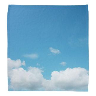 Fluffy Clouds and Sky Bandana