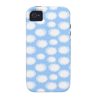 Fluffy Clouds Vibe iPhone 4 Case