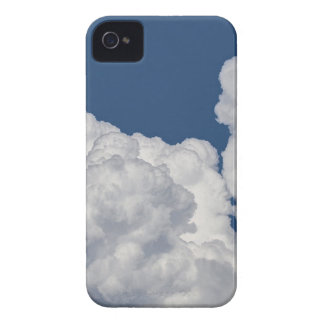 Fluffy Clouds in Sky iPhone 4 Cover