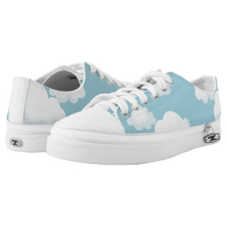 Fluffy Clouds Low Tops