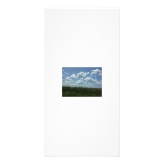 Fluffy Clouds Photo Greeting Card