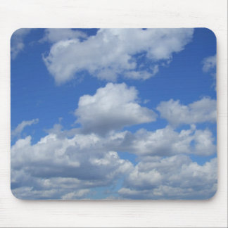 Fluffy Clouds & Skies Mousepad