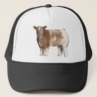 Fluffy Cow Trucker Hat