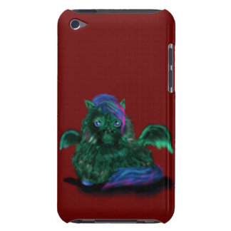 Fluffy Dragon Pony Barely There iPod Covers