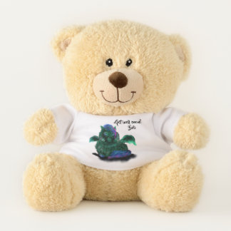 Fluffy Dragon Pony Teddy Bear
