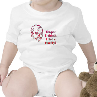 Fluffy for light background baby bodysuit
