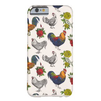 Fluffy Layers Hens, Roosters and Roses Phone Case