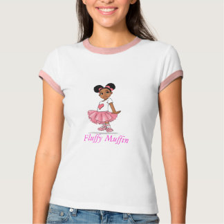 Fluffy Muffin Cartoon, Fluffy Muffin T-Shirt