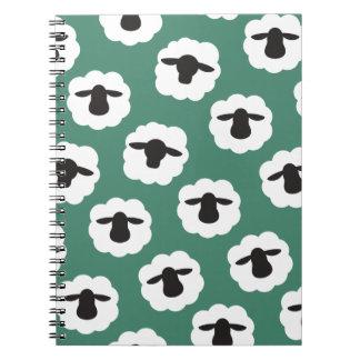 Fluffy Sheep Crafts Pattern Notebook