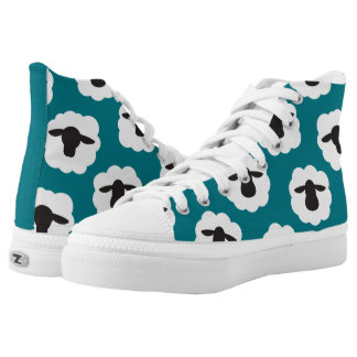 Fluffy Sheep Print {Any Colour} Printed Shoes