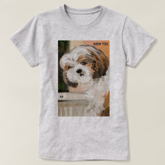 """Fluffy Shih Tzu"" T-Shirt"