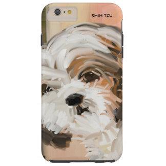 """""""Fluffy Shih Tzu"""" Tough iPhone 6 Plus Case"""