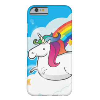 Fluffy Unicorn Barely There iPhone 6 Case