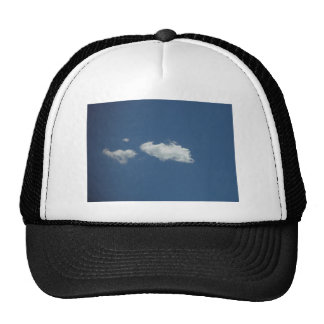Fluffy White Cloud On Deep Blue Sky On Currambine Trucker Hat