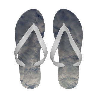 Fluffy White Clouds Sandals