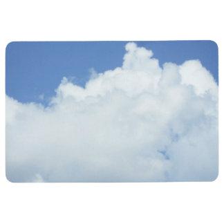Fluffy White Clouds Floor Mat