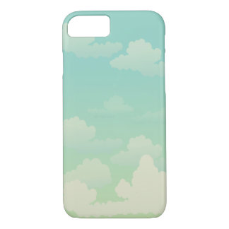 Fluffy White Clouds iPhone 7 Case
