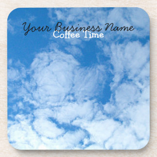 Fluffy White Clouds; Promotional Coaster