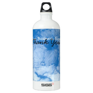 Fluffy White Clouds; Promotional SIGG Traveler 1.0L Water Bottle