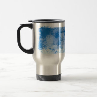 Fluffy White Clouds; Promotional Stainless Steel Travel Mug