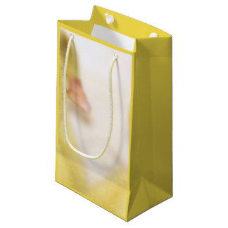 Fluffy Yellow Ducklings Small Gift Bag