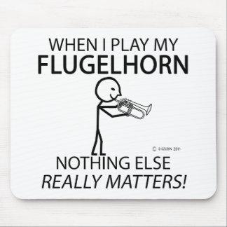 Flugelhorn Nothing Else Matters Mouse Pad