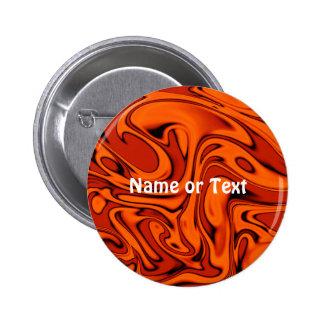 fluid art 01 red pinback button