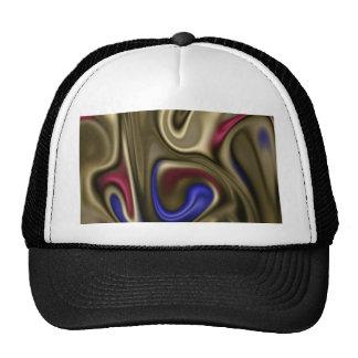 fluid art mesh hats