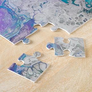 Fluid Art Puzzle