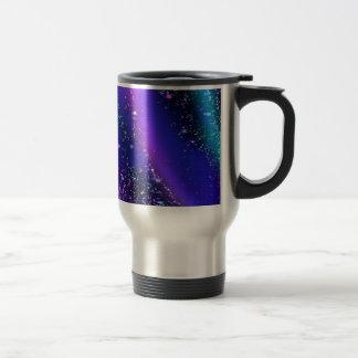 fluid blue mug