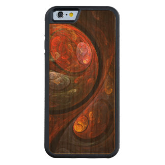 Fluid Connection Abstract Art Cherry iPhone 6 Bumper Case