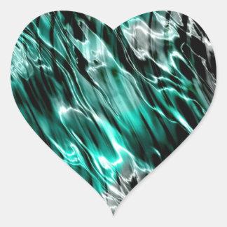 Fluid Heart Sticker