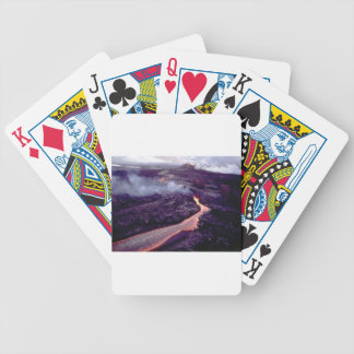 Fluid heat bicycle playing cards