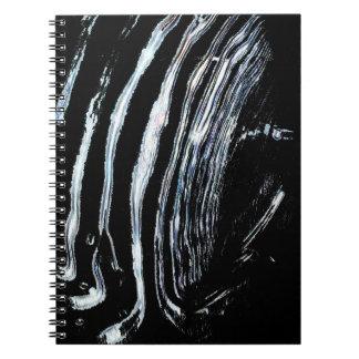 Fluid Lines Notebook