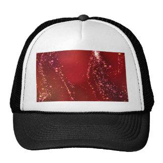 fluid, red trucker hat